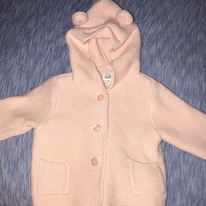 Other - Baby pink knitted jacket